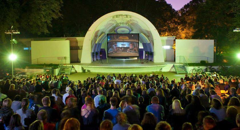 Film, Filmowa Stolica Parku Polińskiego Repertuar plenerowego 2017r - zdjęcie, fotografia