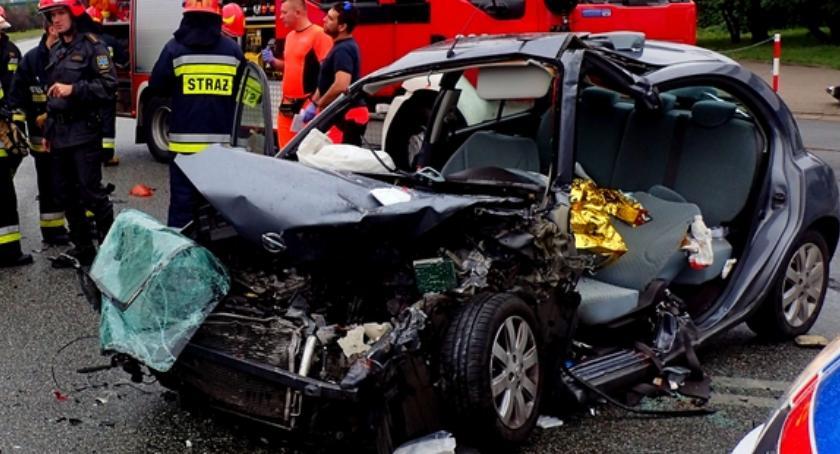 Wypadki, Wypadek Grenadierów Straż publikuje zdjęcia - zdjęcie, fotografia
