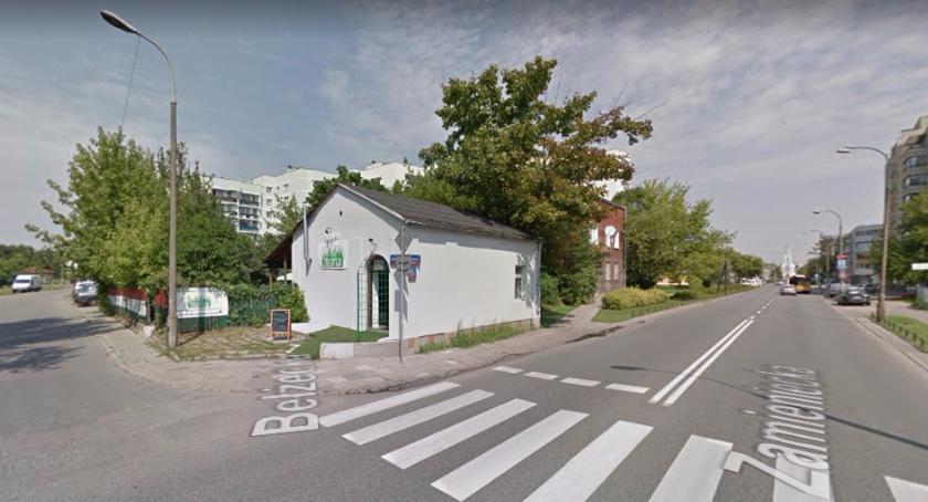 Handel i usługi, Zieleniak zamknięty Znika gastronomicznej Grochowa - zdjęcie, fotografia