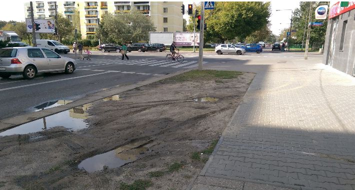 Blog, wyglądać zieleń Grochowie - zdjęcie, fotografia