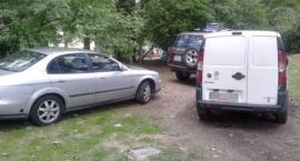 Cicho jest w Parku Skaryszewskim - park to nie parking