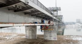 Rozpoczęto budowę kładki pieszo rowerowej na moście Łazienkowskim