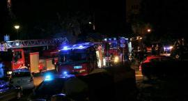 Gocław: pożar mieszkania przy Rechniewskiego