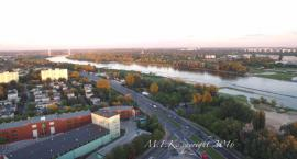 Saska Kępa z lotu drona [FILM]