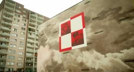 Nowy mural na Gocławiu w hołdzie polskim lotnikom