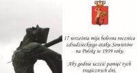 Pokaz filmu na Placu Szembeka w rocznicę ataku Sowietów