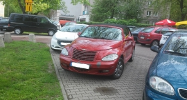 Mistrzowie parkowania na Saskiej Kępie (cz.3)
