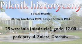 Piknik historyczny w parku przy ul. Znicza [ZAPROSZENIE]